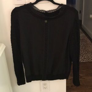 H&M Black Lace Sweater